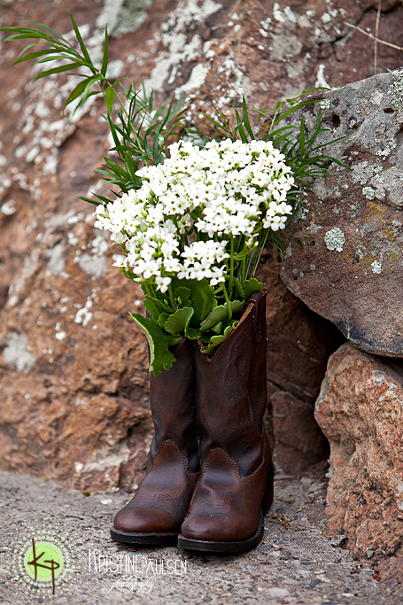 montana ranch wedding detail