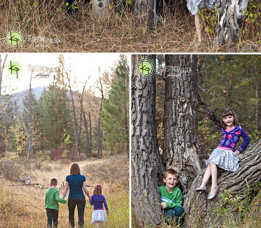 Stone-Skipping, Field-Running and Tree-Climbing – {Jones Family Portrait Session}
