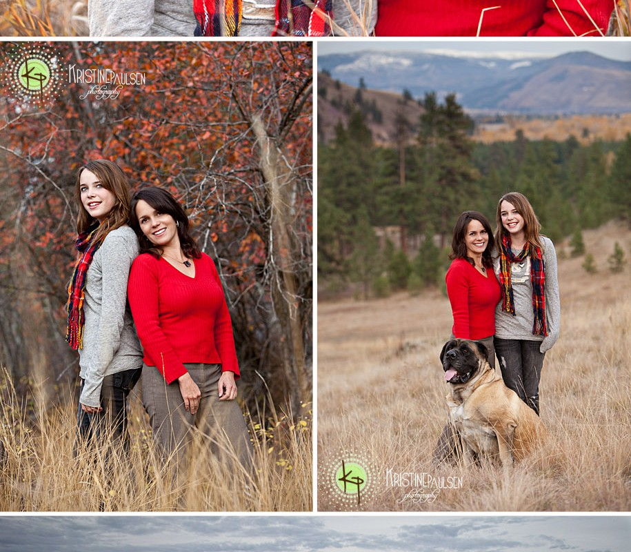 Mother and Daughter Beneath the Big Sky – {Close Family Portraits}
