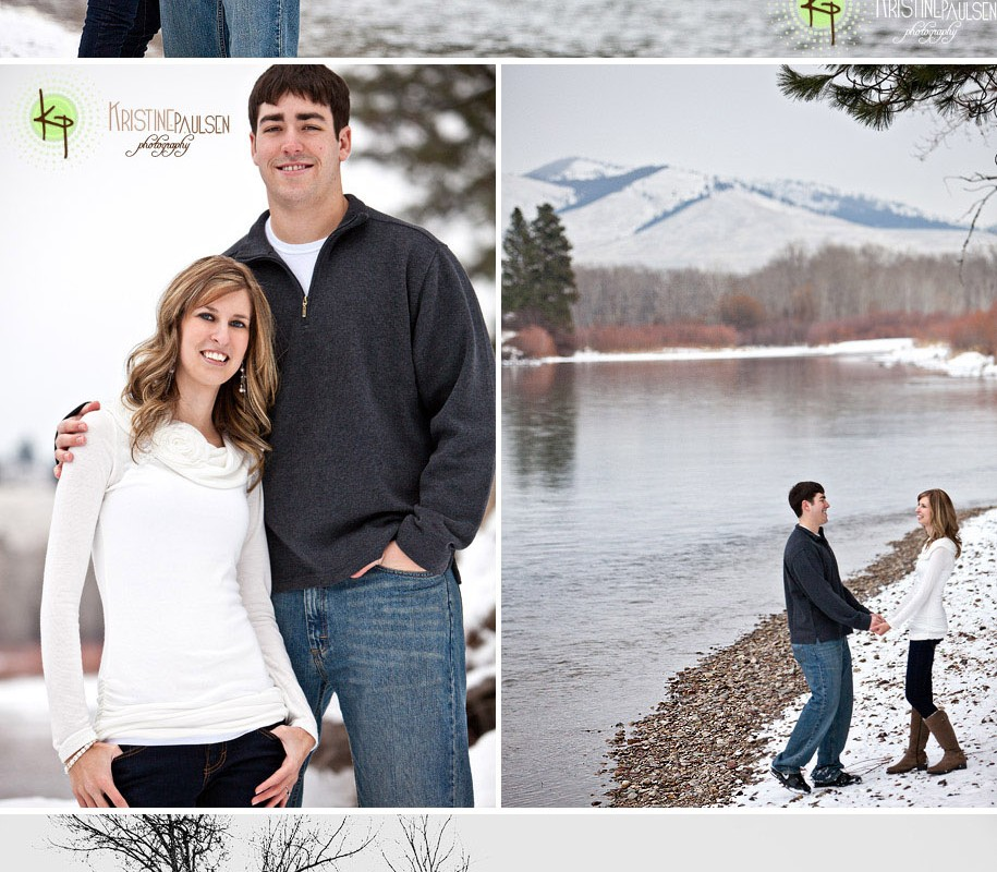 Sweet On Each Other – {Leanna and Skyler's Missoula Engagement Session}
