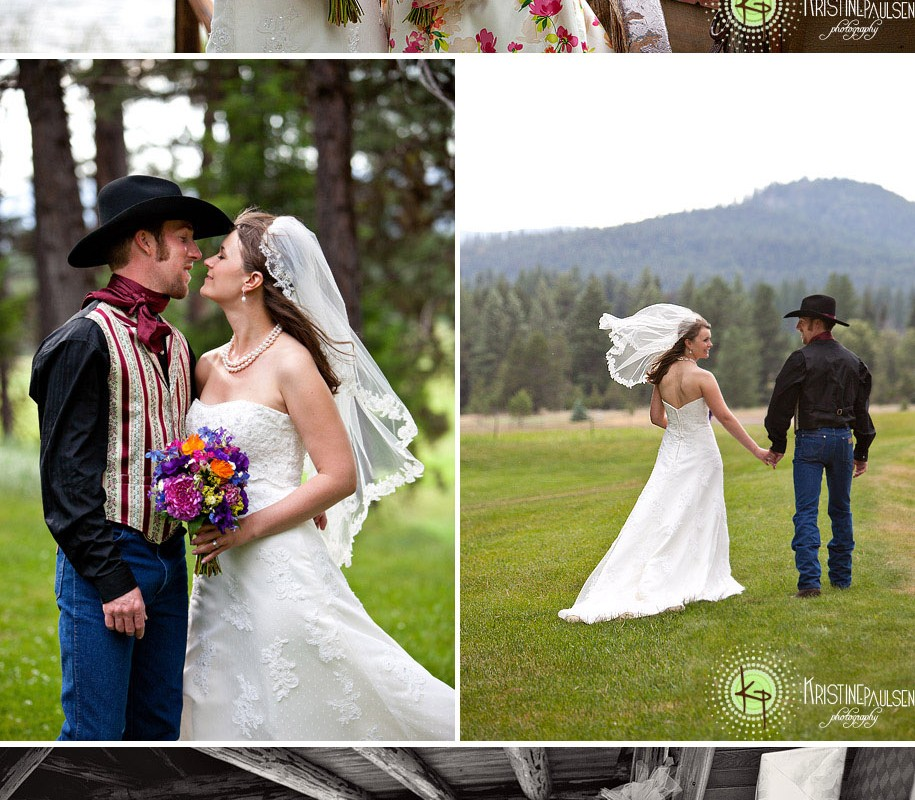 Cowboy + Cowgirl = A Match Made in Montana: {Emily and George's Double Arrow Lodge Wedding}