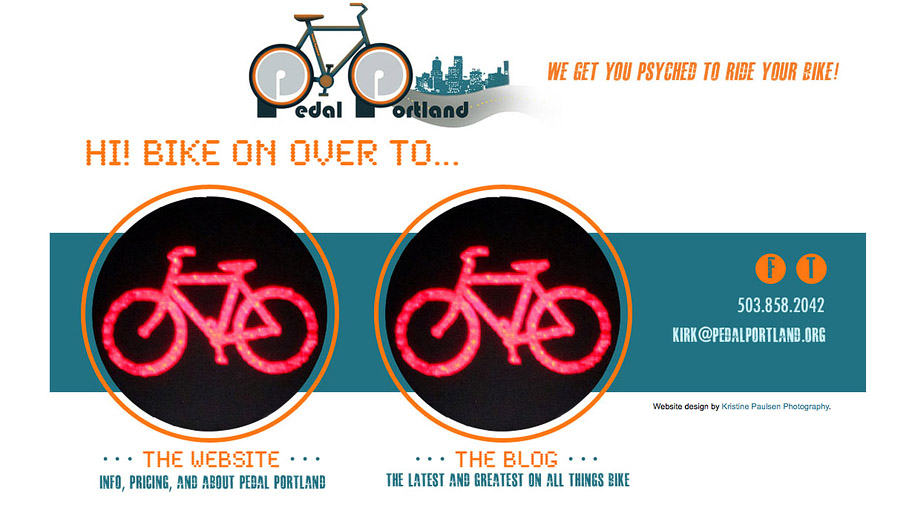 Get Psyched to Ride Your Bike! – {Pedal Portland's Website Unveiled!}