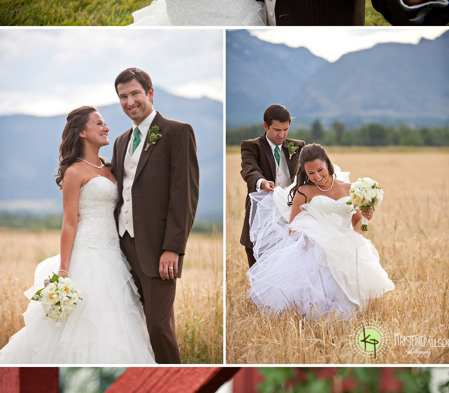Rainbows, Sunsets, Love…and a little Elvis – {John and Lisa's Corvallis, MT Wedding}