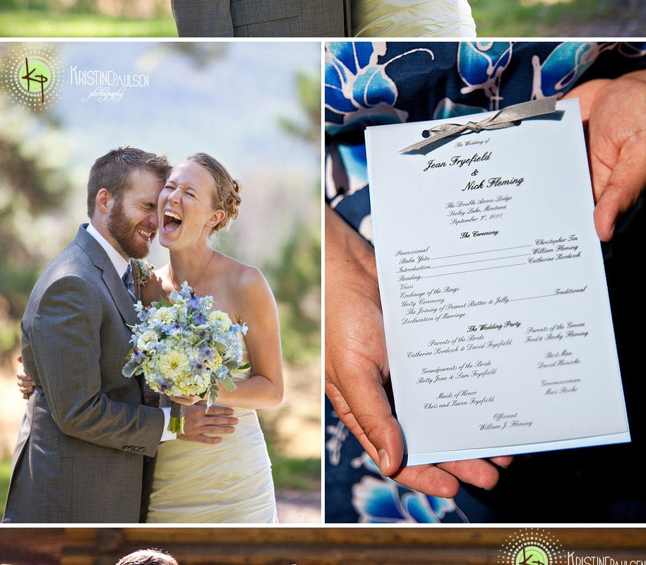 Made for Each Other, Like Peanut Butter and Jelly – {Jean and Nick's Montana Wedding}