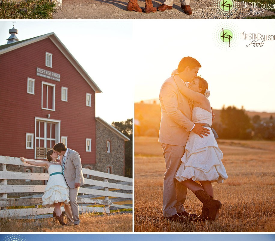 They Fell in Love in Helena :: A Kleffner Ranch Wedding