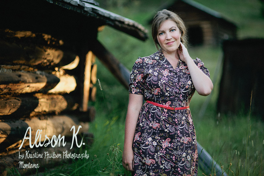 "From Flowers and Frocks to Sequins and Smoldering – {Ali K.'s ""Just Because"" Montana Portrait Session}"
