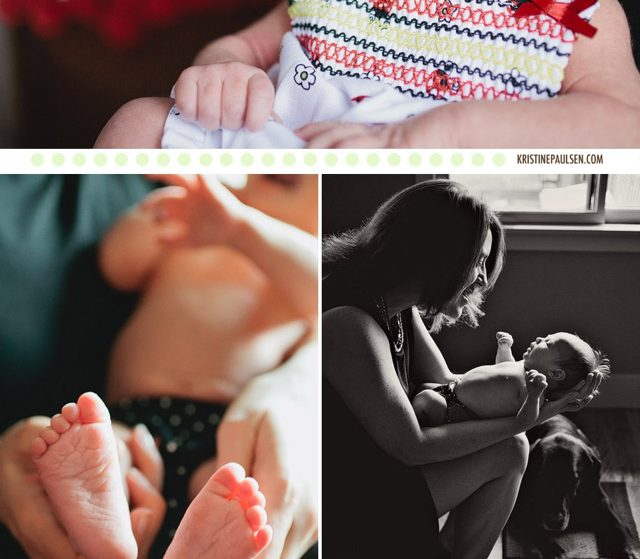Tiny Fingers and Tiny Toes – {Mirai's Newborn Session}