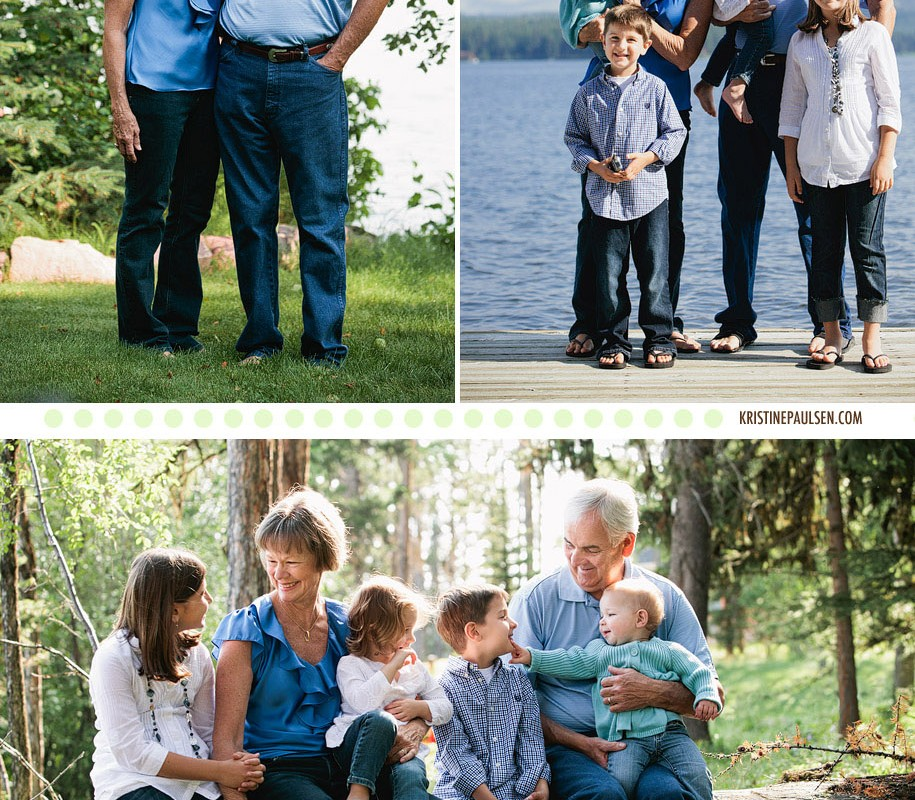 Family Fun on the Lake – {Seeley Lake 40th Anniversary Family Session}