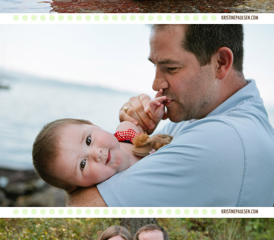 Splish Splashing! – {The Chandler's Flathead Lake Family Session}