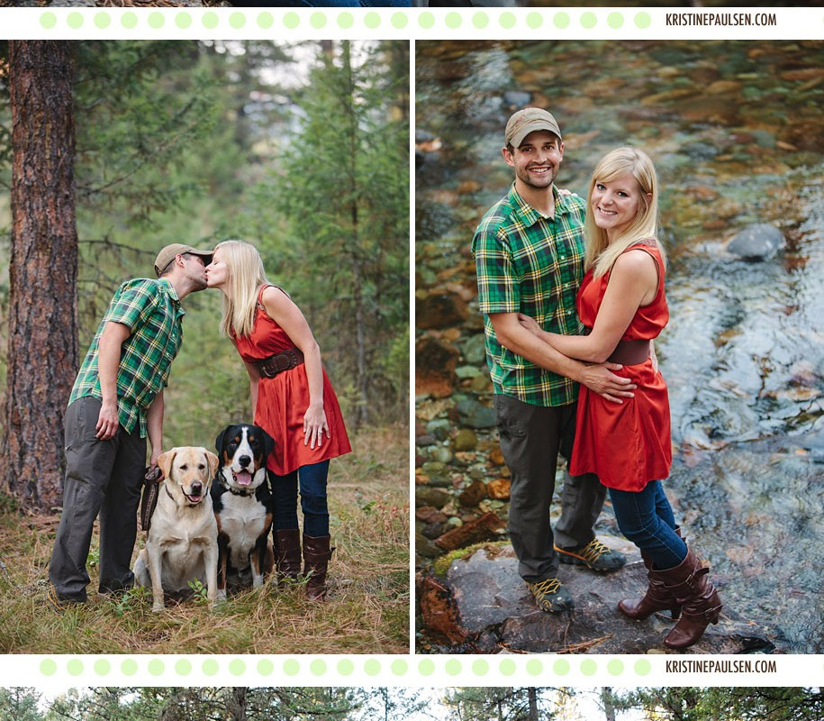 A Walk Through the Woods – {Chelsey and Marc's Missoula Engagement Session}