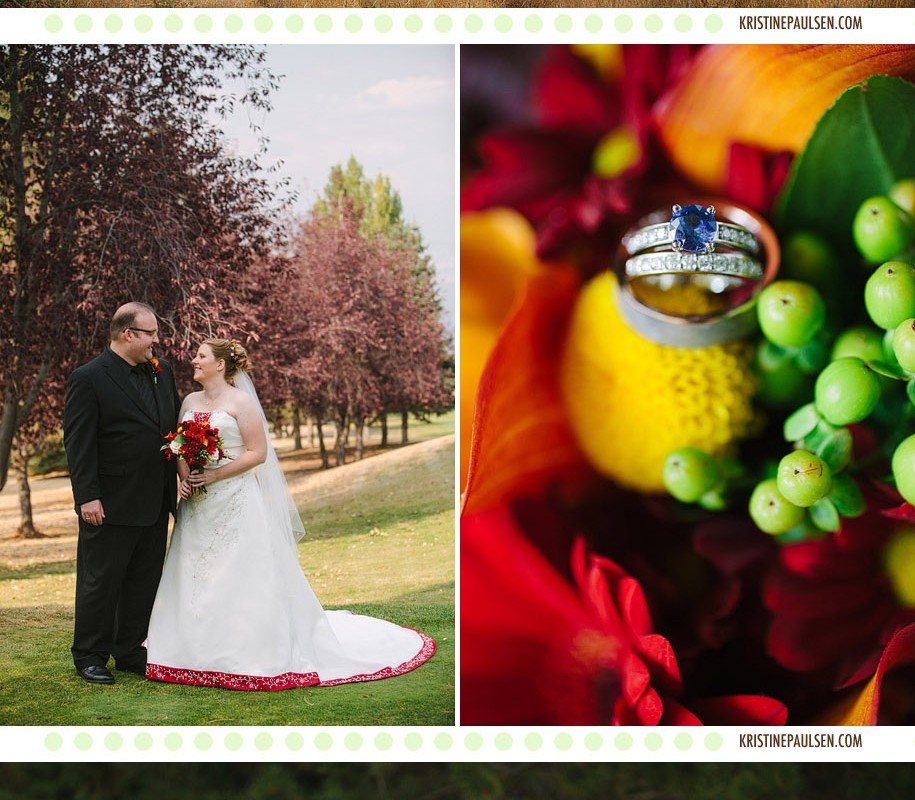 The Autumn Leaves of Red and Gold – {Kristi and Derek's Missoula Wedding}