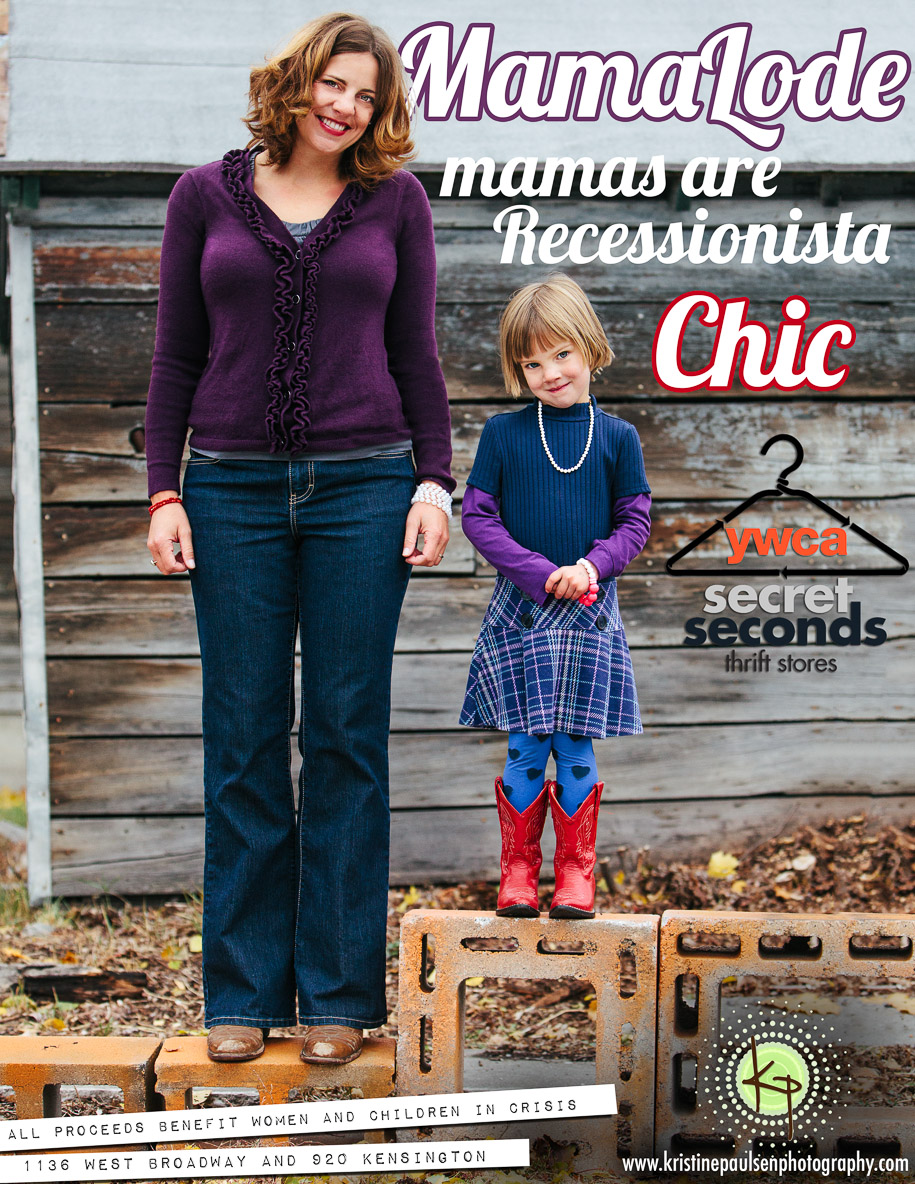 Missoula MamaLode shows off their Recessionista Chic style to beneift YWCA Secret Seconds