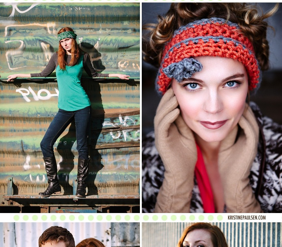 Color, Texture and Light – {Healy, Holly and Carson's Model Session}
