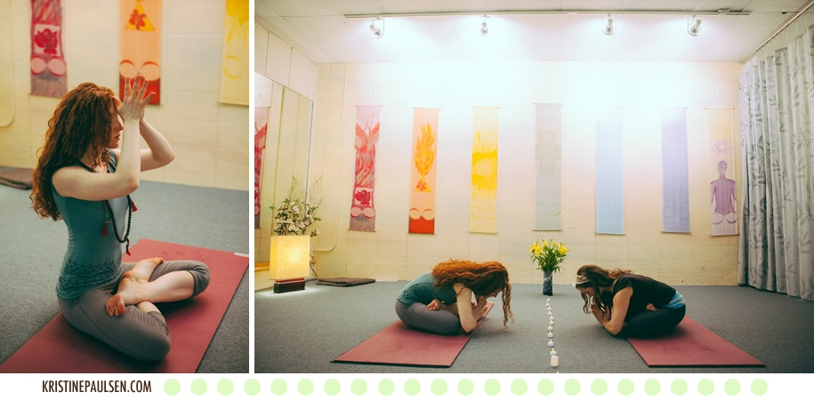 Claire's Missoula Yoga Portrait Session by Kristine Paulsen Photography