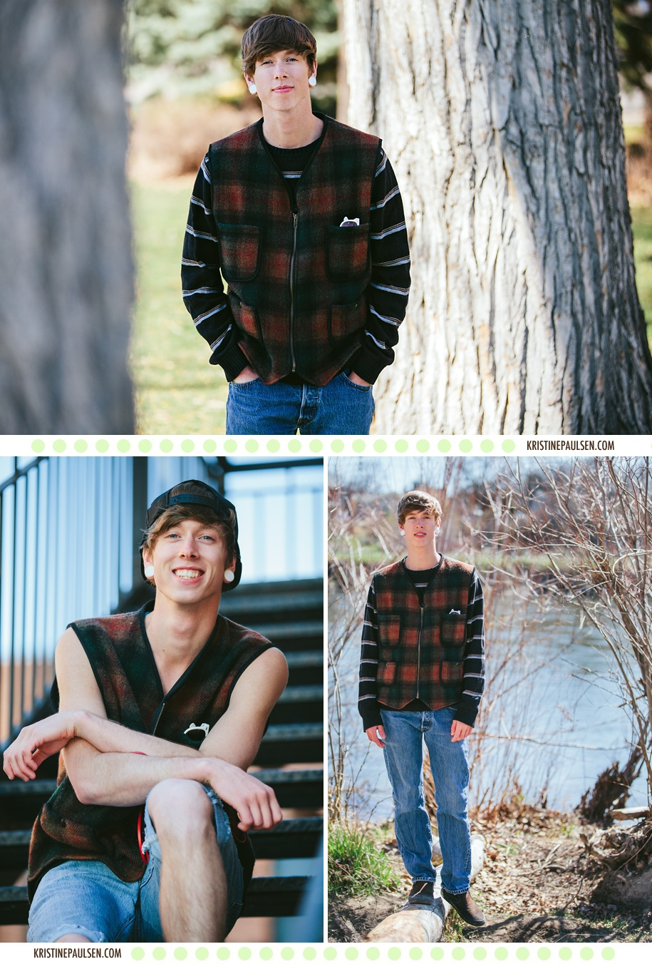 Braylon's Missoula Senior Pictures by Kristine Paulsen Photography