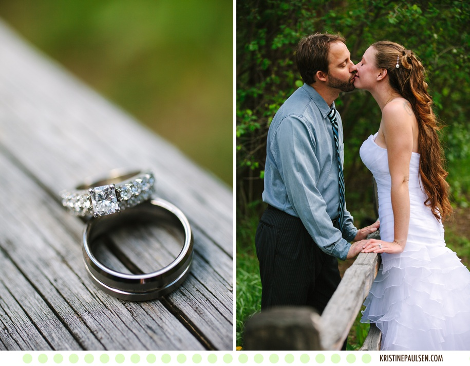 Starr and Ian's Missoula Montana Wedding - Photos by Kristine Paulsen Photography