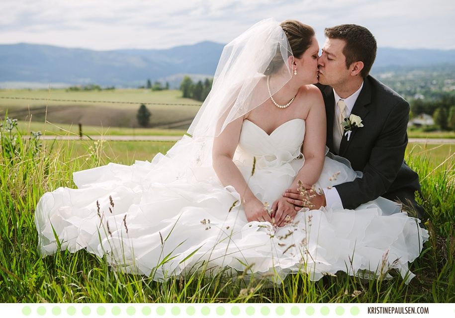 Ellen and Jeff's Missoula, Montana Wedding at the Keep - Photographs by Kristine Paulsen Photography