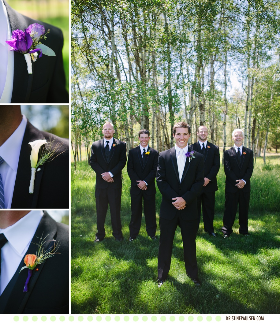Megin and Seth's Stevensville Montana Wedding - Photos by Kristine Paulsen Photography