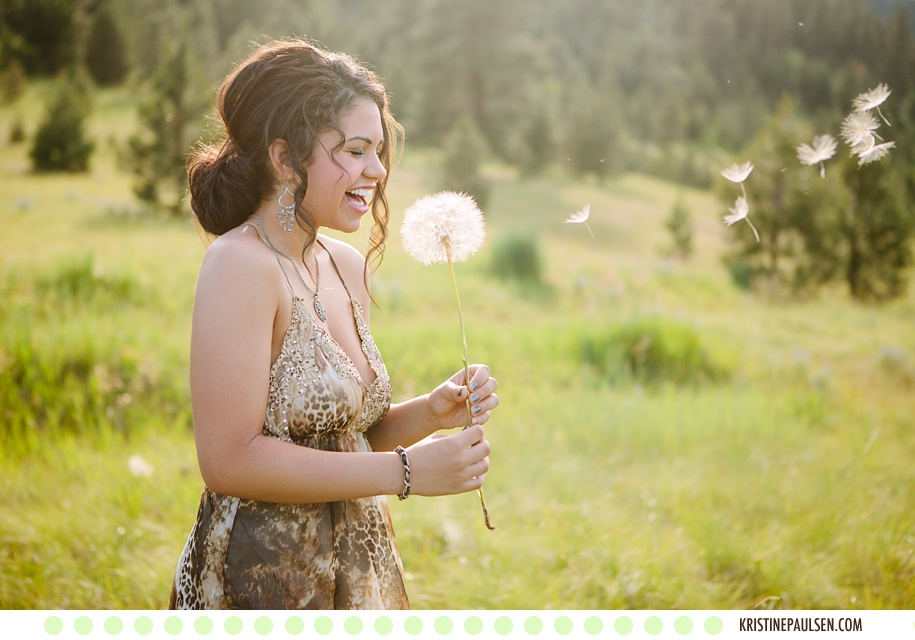 Playing in the Rain, and Fun in the Sun – {Kali's Missoula Senior Session}