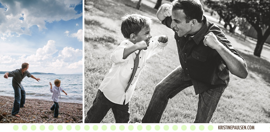 The House Family's Flathead Lake Family Session - Photos by Kristine Paulsen Photography