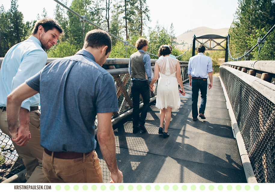 Jenny and Eddie's Missoula, Montana Wedding at the Ranch Club - Photos by Kristine Paulsen Photography