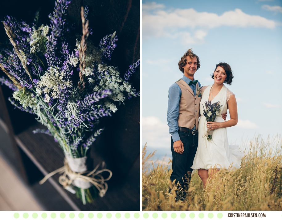 Jenny and Eddie's Missoula, Montana Wedding at the Ranch Club - Photos by Kristine Paulsen Photographyv