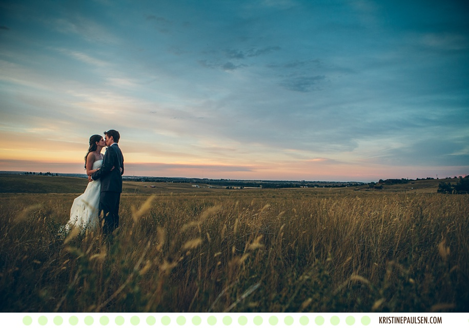 Kisses in the Swaying Grasses – {Megan and Jason's Great Falls Wedding}