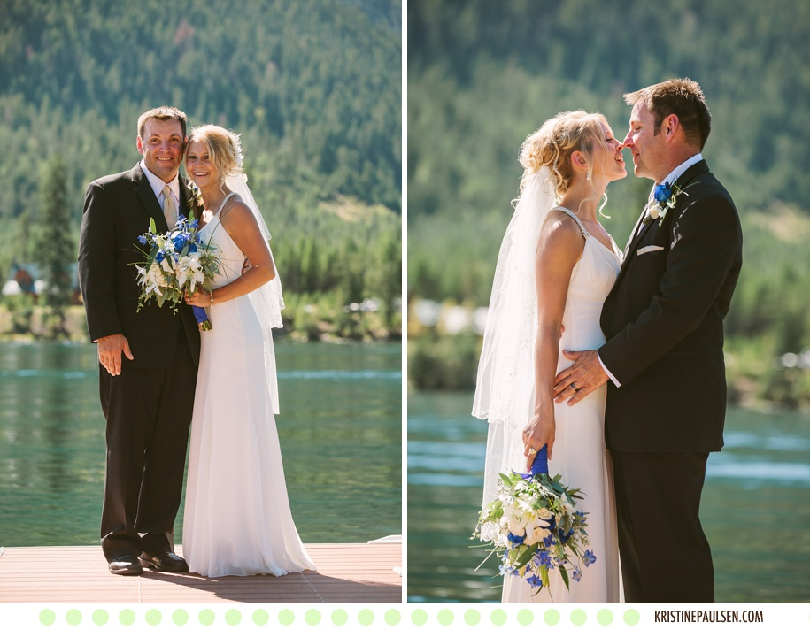 Tying the Knot in Montana – {Lauren and Thad's Bull Lake Wedding}
