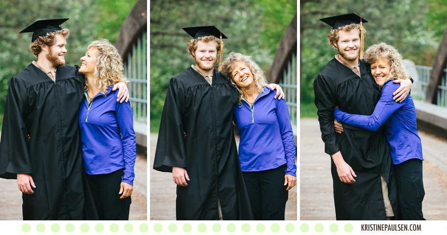 Graduation Celebration! :: Dylan's University of Montana in Missoula Graduation and Family Portraits - Images by Kristine Paulsen Photography