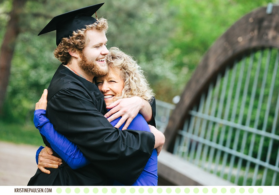 Graduation Celebration! :: {Dylan's University of Montana Graduation and Family Portraits}
