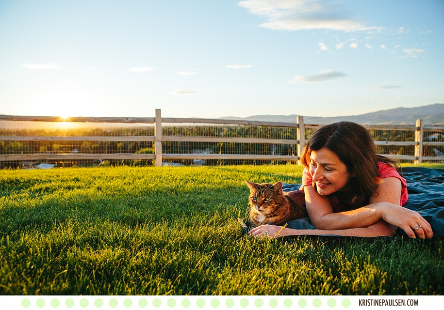 "Furry Friends :: {Heather and Matt's Missoula Family Portraits with their ""Four-Leggeds""}"
