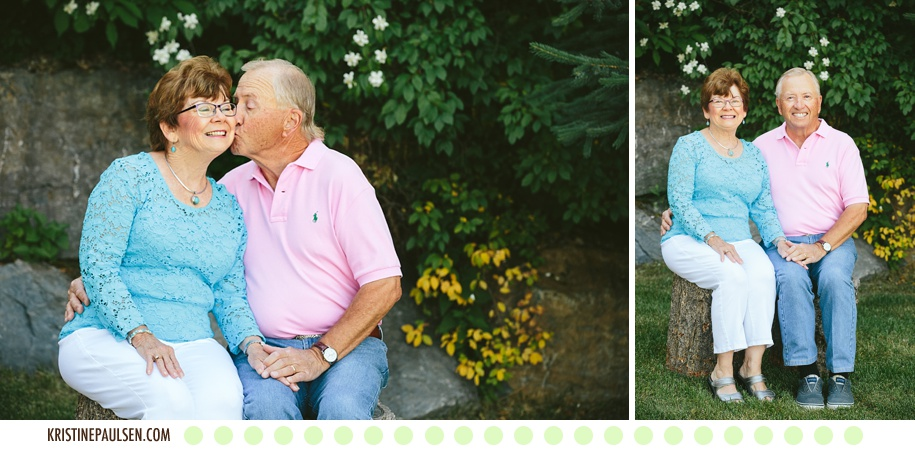 Celebrating 50 Years :: The Hooper's 50th Anniversary at Flathead Lake in Montana :: Images by Kristine Paulsen Photography
