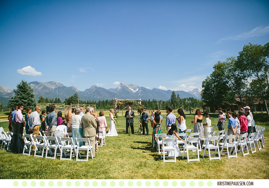 A Montana Kind of Love :: Kristeen and Colt's Sky Ridge Ranch Wedding in Ronan, Montana :: Photos by Kristine Paulsen Photography