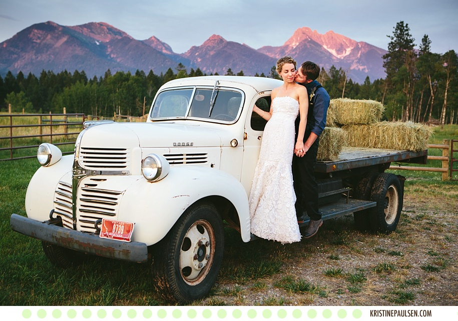 A Montana Kind of Love :: {Kristeen and Colt's Sky Ridge Ranch Wedding}