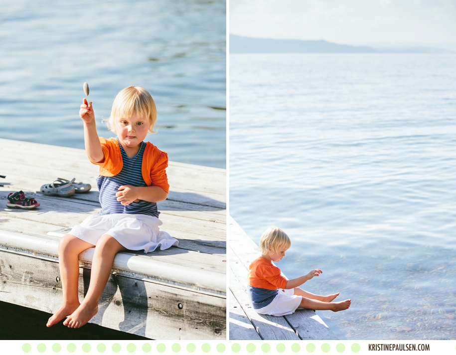 Flathead Lake Fun :: The Connolly Family's Bigfork, Montana Portraits :: Images by Kristine Paulsen Photography