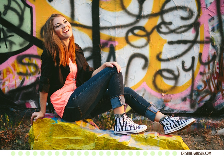 Converse Kicks and Prom Dress Prettiness :: Miranda's Missoula Senior Portraits