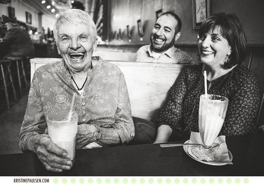 Laughter and Milkshakes :: {Jessica, Robert and Rae's Missoula Portraits}