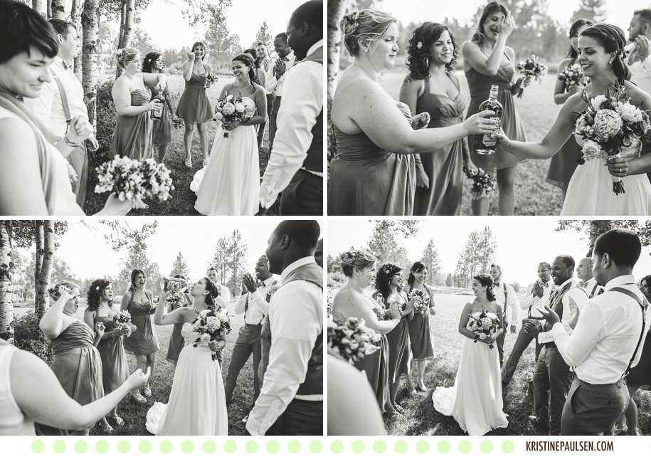 Married among the Mission Mountains :: Mariah and Erryn's Sky Ridge Ranch Wedding in Ronan, Montana :: Photos by Kristine Paulsen Photography