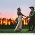 Raindrops and Sunsets :: Ashley and Adam's Sky Ridge Ranch Wedding in Ronan, Montana :: Photos by Kristine Paulsen Photography