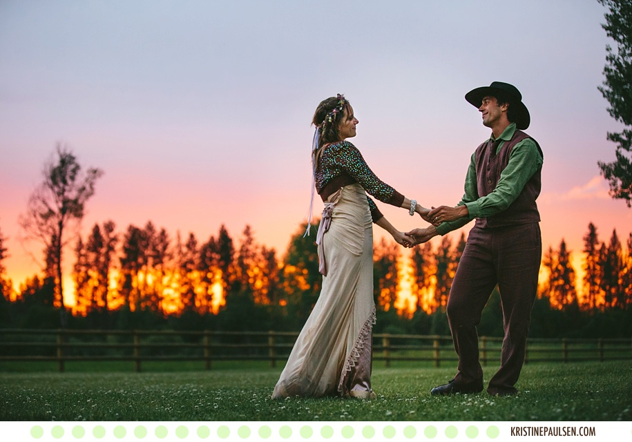 Raindrops and Sunsets :: {Ashley and Adam's Sky Ridge Ranch Wedding}