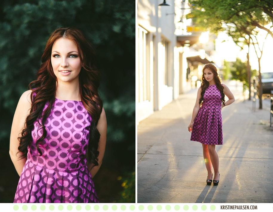 Stunning in Sequins :: Lynnae's Missoula, Montana Portrait Session - Photos by Kristine Paulsen Photography