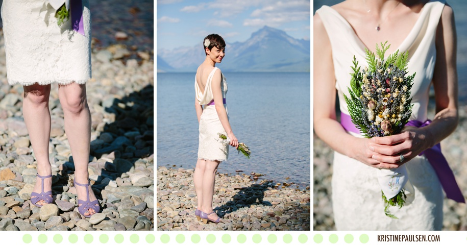 The Glacier Sublime :: Meagan and Brian's Glacier National Park Montana Elopement :: Photos by Kristine Paulsen Photography