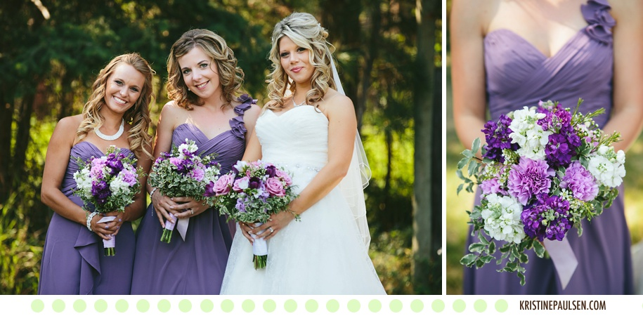Love on the Lake :: Jen and Chris's Flathead Lake Wedding in Somers, Montana :: Photos by Kristine Paulsen Photography