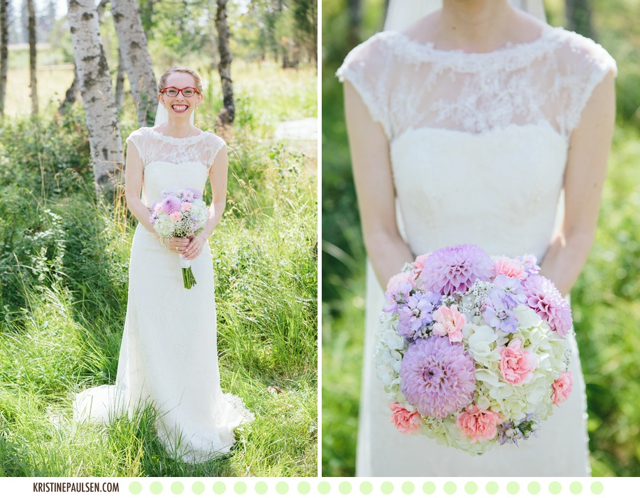 Over the Moon in Love :: {Amanda and Raker's Sky Ridge Ranch Montana Wedding}
