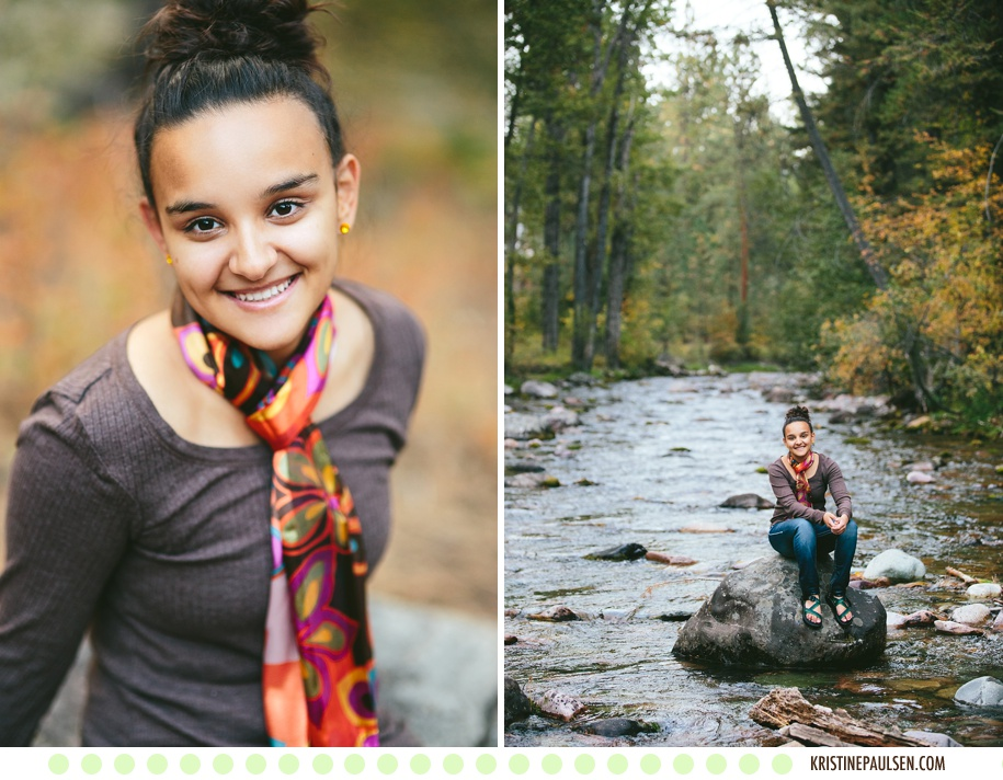 Water-Wading and Sweet Smiles :: {Nicole's Missoula Senior Pictures}
