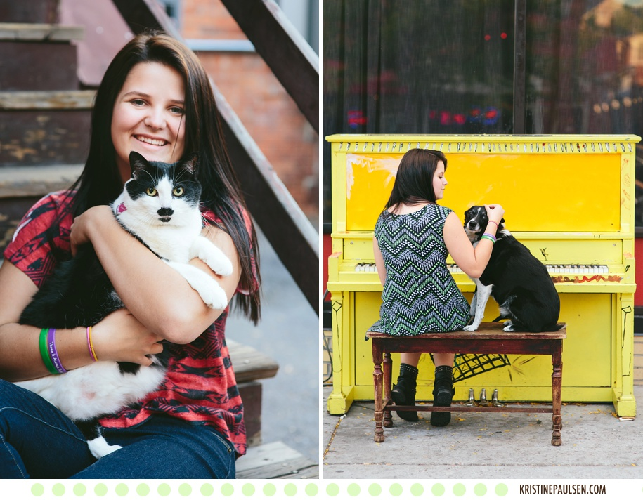 A Girl & Her Best Friends :: Jessy's Missoula, Montana Senior Pictures - Photos by Kristine Paulsen Photography