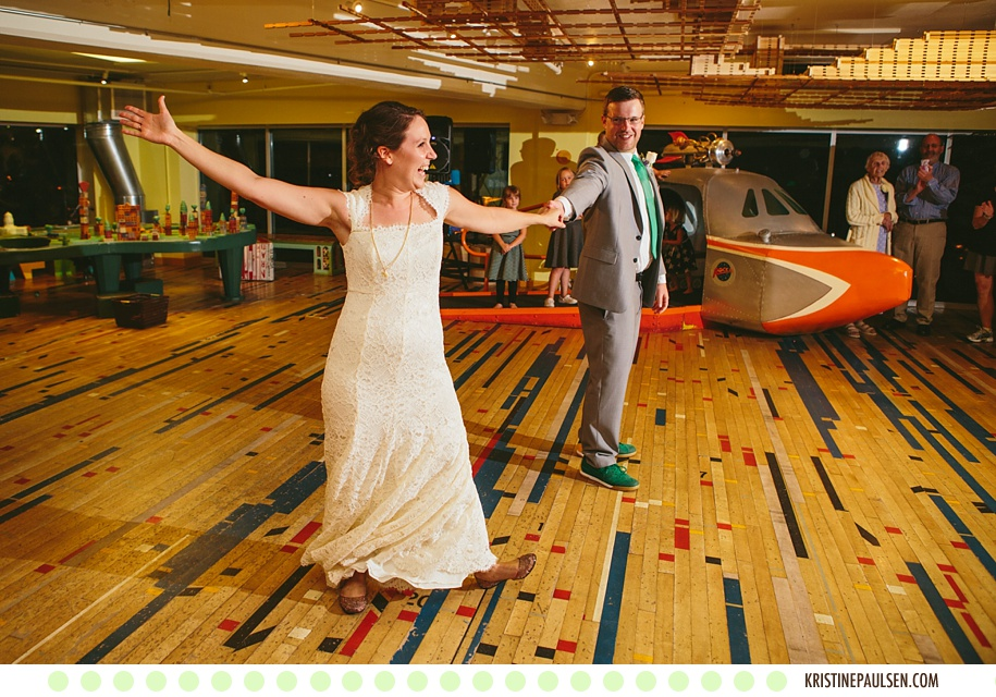 Married in Madison :: Anna and Alex's Madison, Wisconsin Wedding at the Monona Terrace and the Madison Children's Museum - Photos by Kristine Paulsen Photography