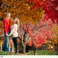 Love Amongst the Leaves :: Kelci + Michael's Missoula, Montana Autumn Engagement Session - Photos by Kristine Paulsen Photography