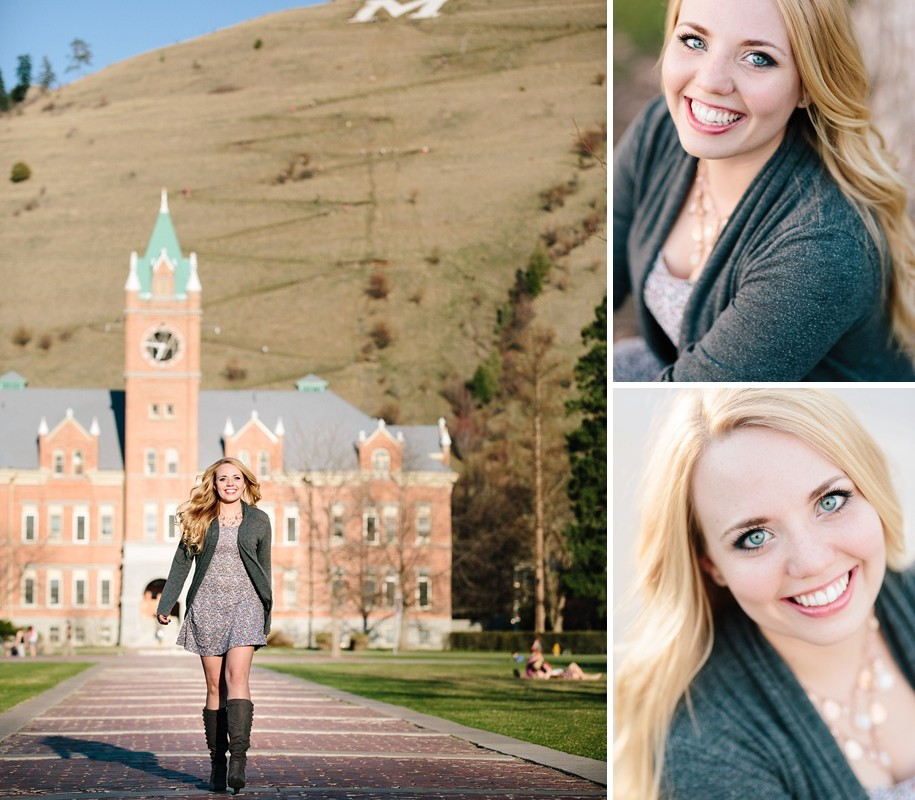 Brooke :: University of Montana Graduation Portraits