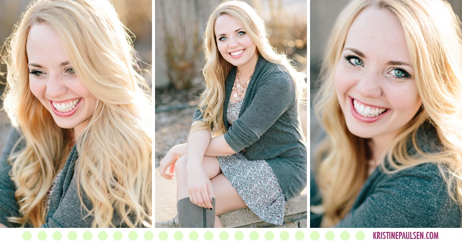 Brooke's University of Montana Graduation Portraits in Missoula - Photos by Kristine Paulsen Photography